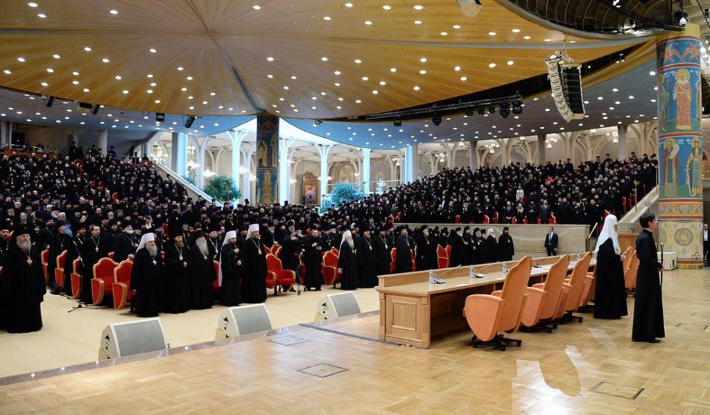 Епархиальное собрание г. Москвы 21 декабря 2015 г.